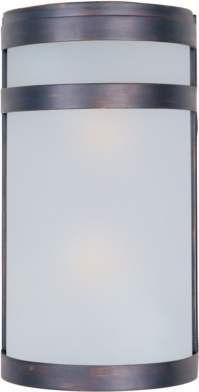 """Arc 6.5"""" 2-Light Outdoor Wall Mount - Oil Rubbed Bronze"""