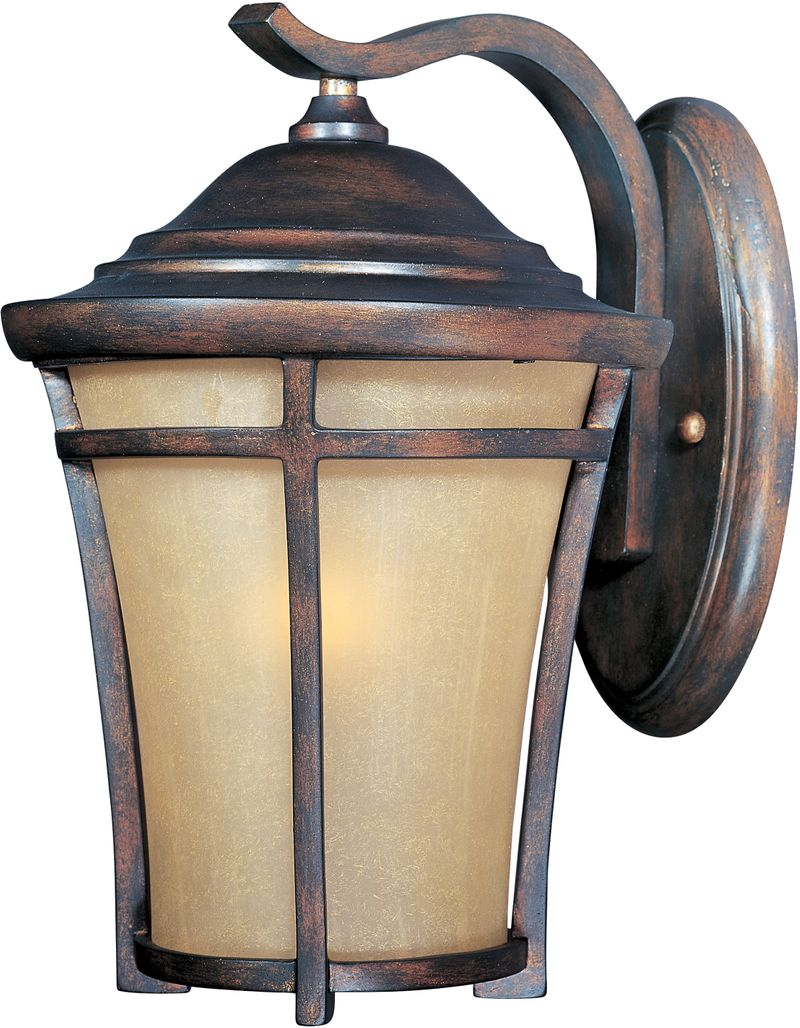 "Balboa VX 7.5"" 1-Light Outdoor Wall Mount - Copper Oxide"