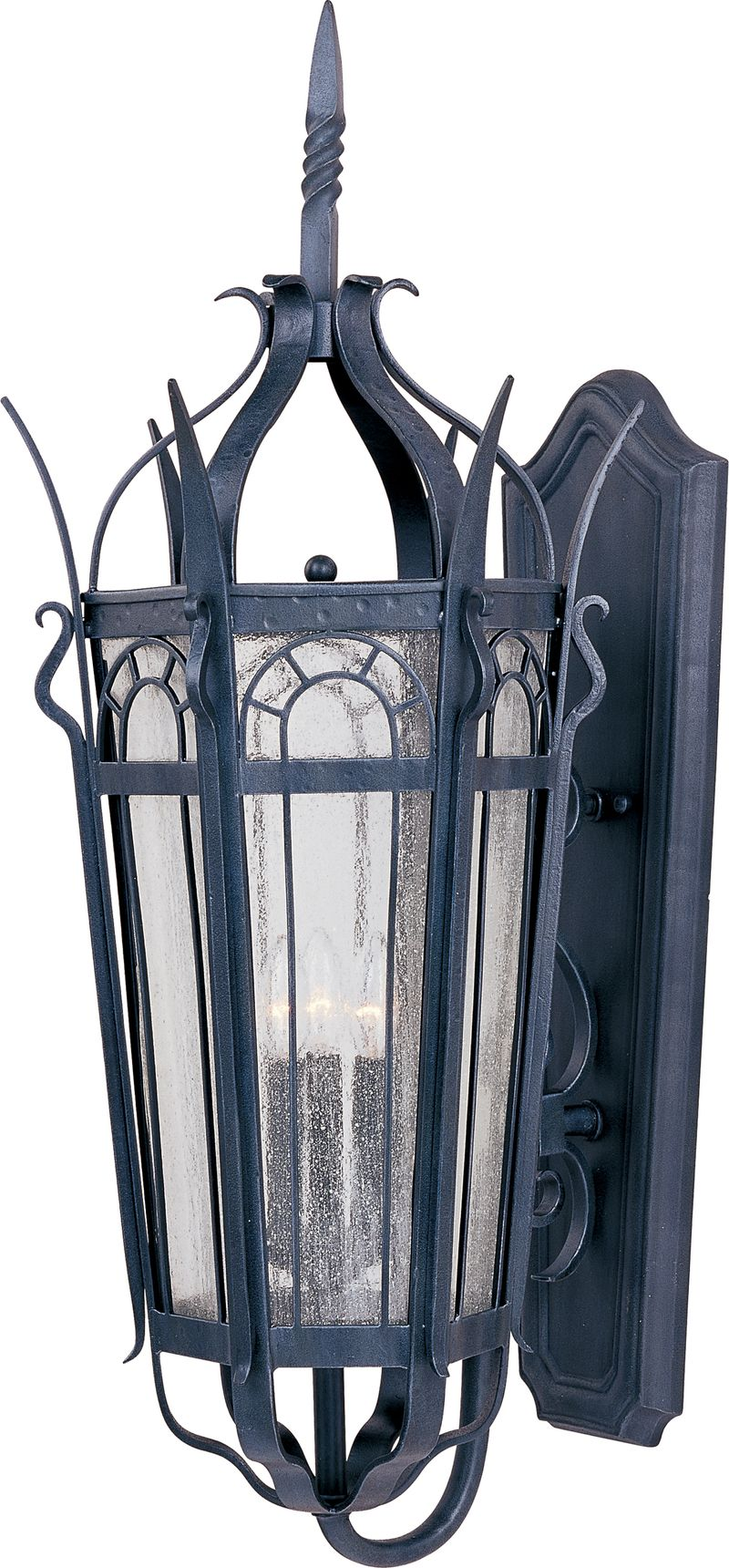 """Cathedral 15.5"""" 3-Light Outdoor Wall Mount - Country Forge"""