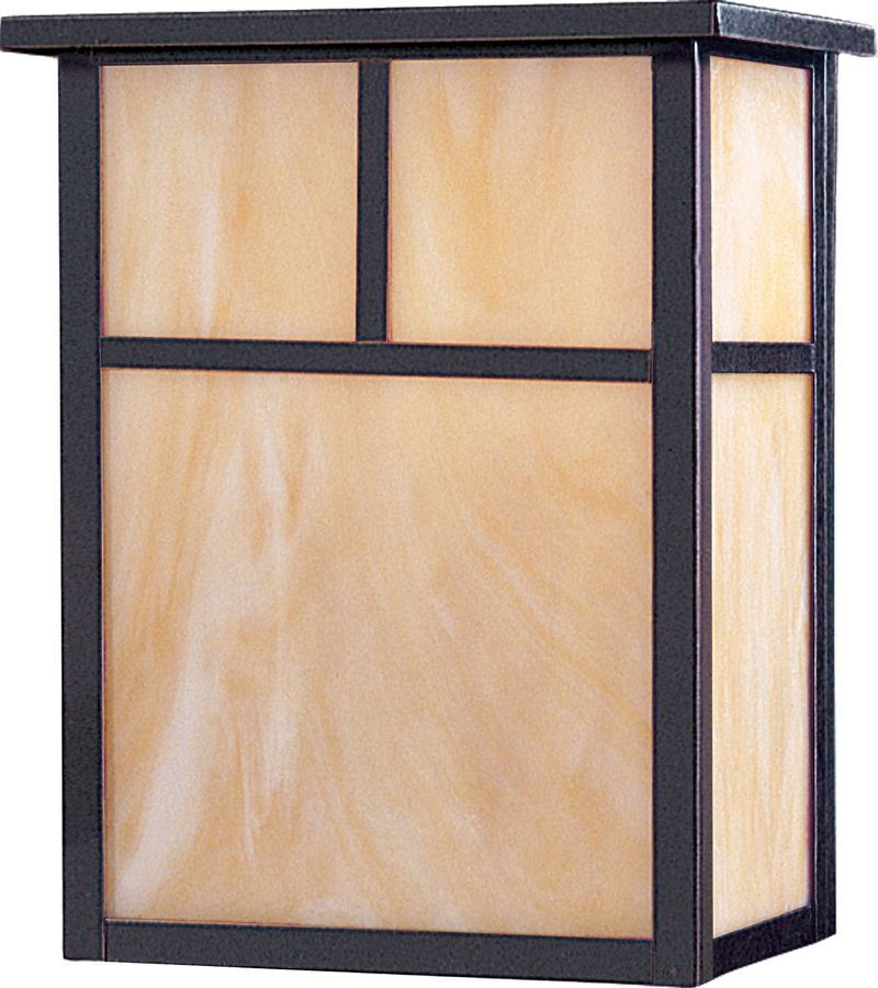 """Coldwater 9"""" 2-Light Outdoor Wall Mount - Burnished"""