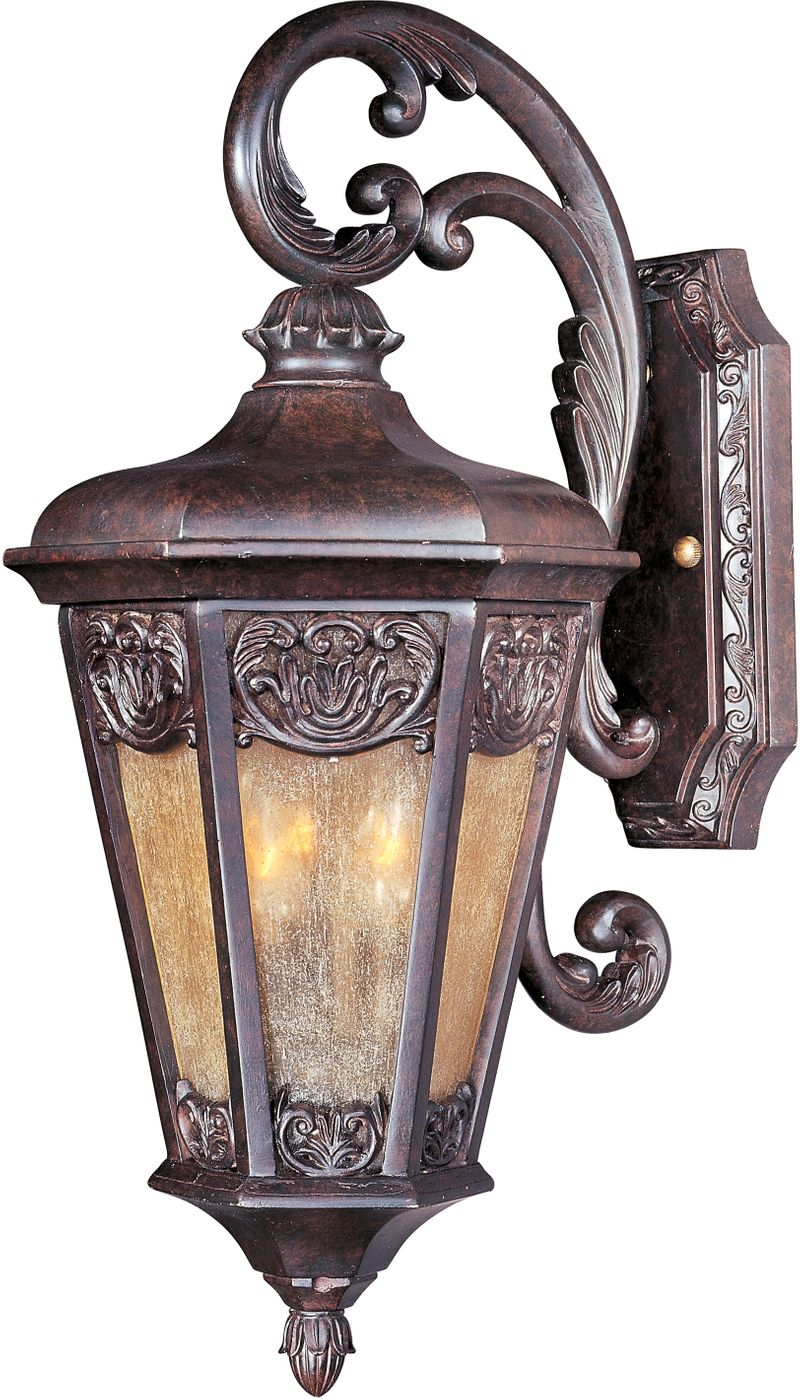 "Lexington VX 9.5"" 2-Light Outdoor Wall Mount - Colonial Umber"