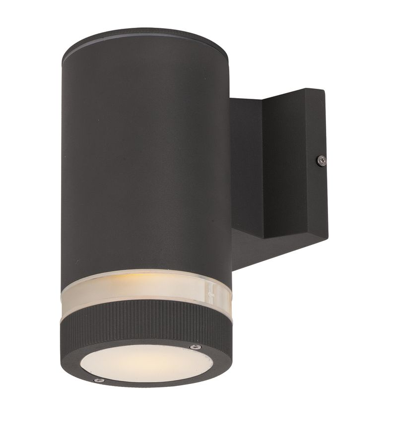"""Lightray 4.25"""" 1-Light Outdoor Wall Mount - Architectural Bronze"""