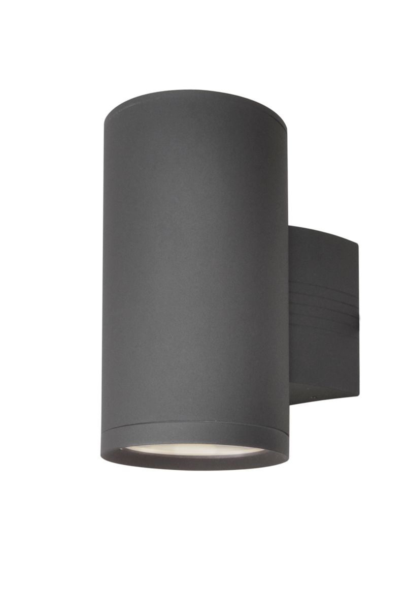 "Lightray 5"" 1-Light Outdoor Wall Mount - Architectural Bronze"