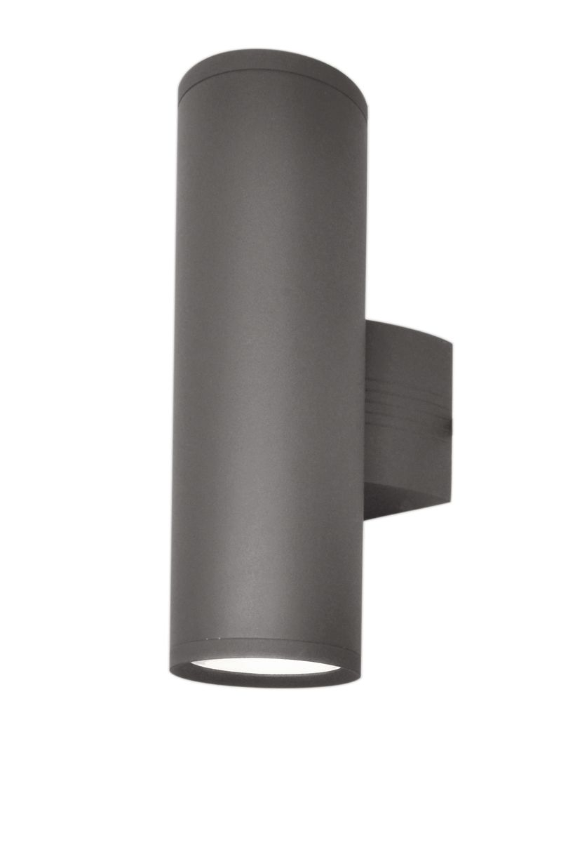 """Lightray 5"""" 2-Light Outdoor Wall Mount - Architectural Bronze"""