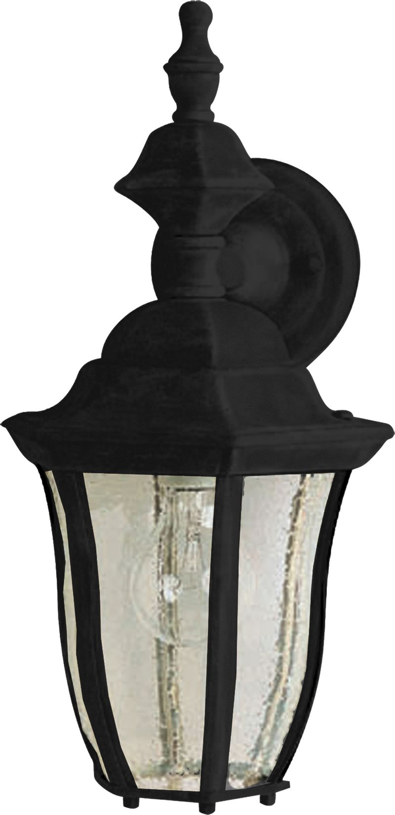 """Madrona 8"""" 1-Light Outdoor Wall Mount - Black"""