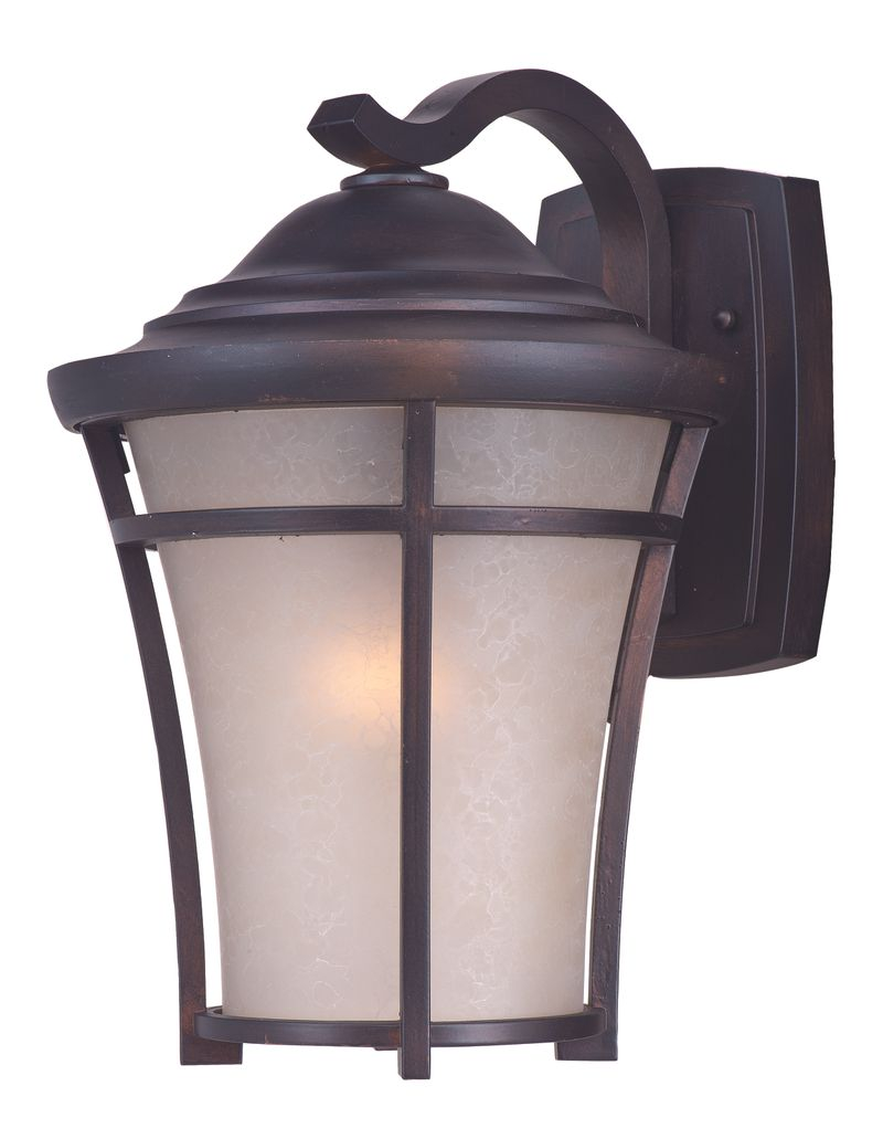 "Balboa DC 12"" 1-Light Outdoor Sconce - Copper Oxide"