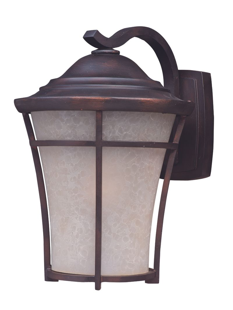 "Balboa DC EE 10"" 1-Light Outdoor Sconce - Copper Oxide"