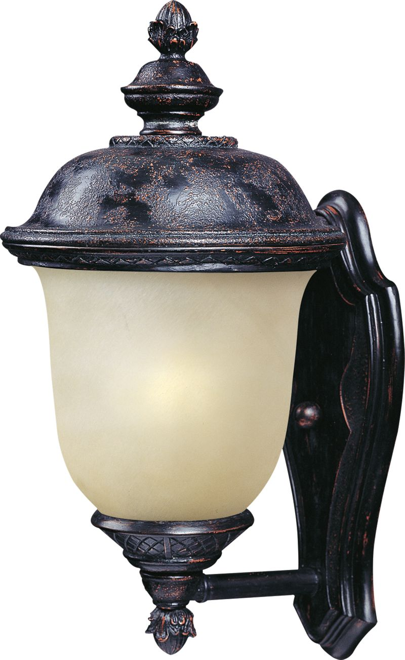 """Carriage House E26 9"""" 1-Light Outdoor Sconce - Eastern Bronze"""