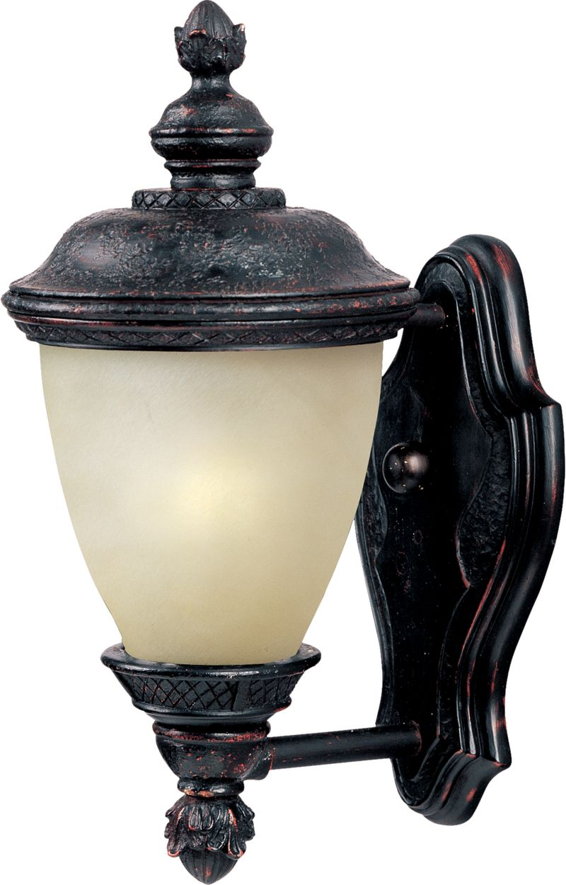 "Carriage House E26 6"" 1-Light Outdoor Sconce - Eastern Bronze"