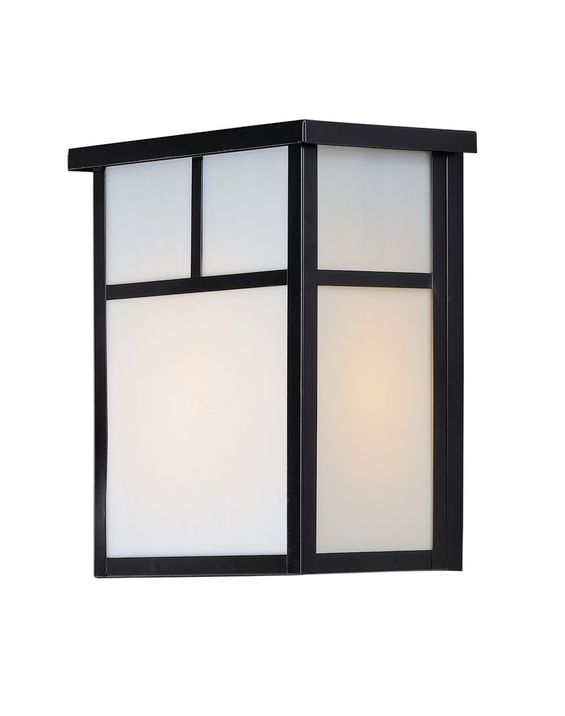 """Coldwater 9"""" 2-Light Outdoor Sconce - Black"""
