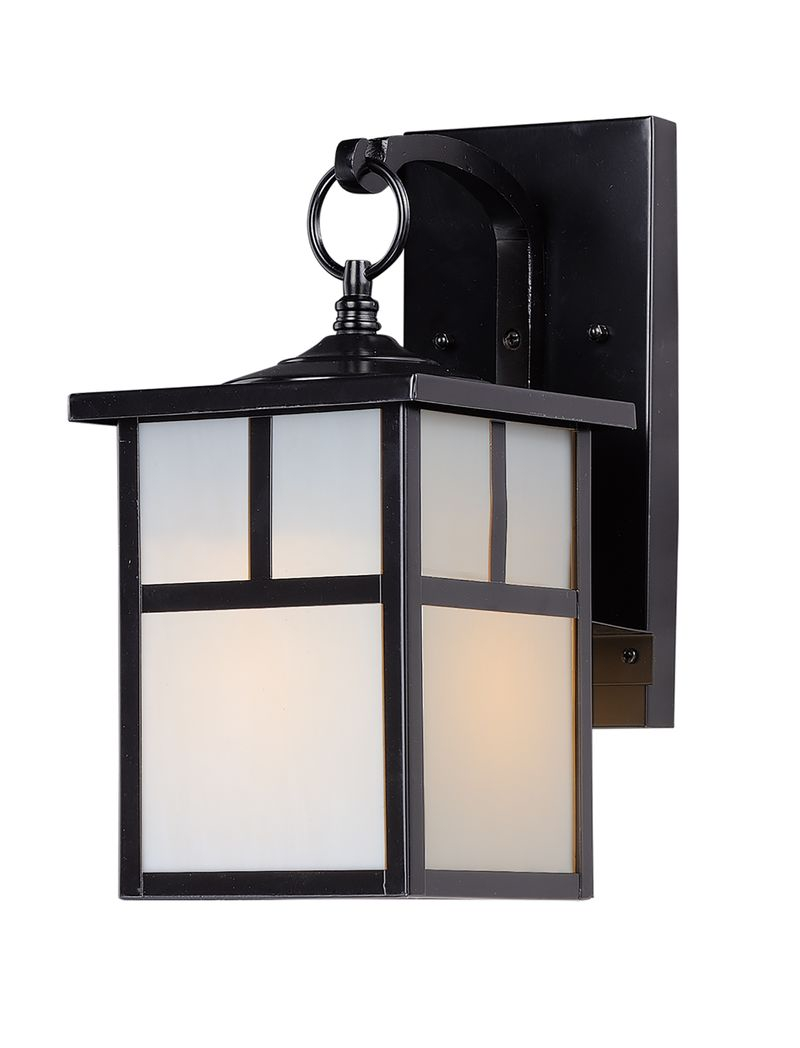 "Coldwater 6"" 1-Light Outdoor Sconce - Black"