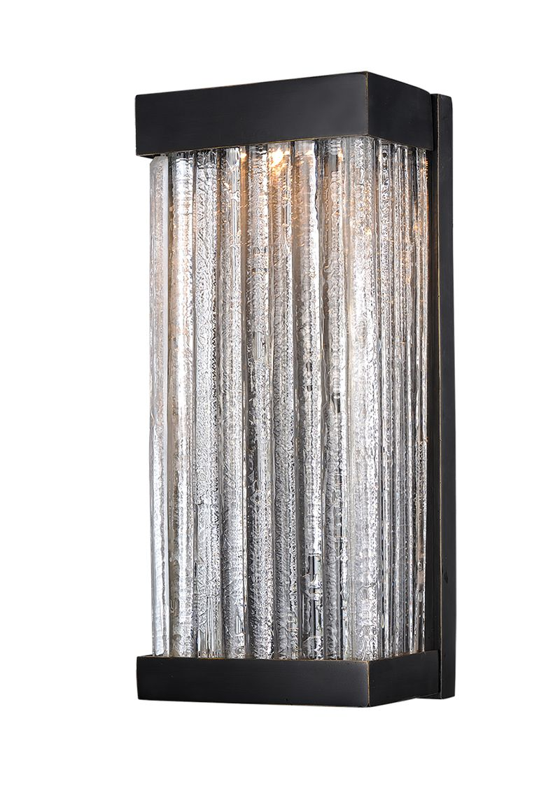 "Encore VX 7"" 1-Light Outdoor Sconce - Bronze"