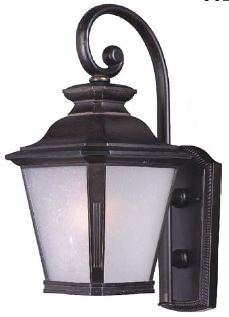 "Knoxville 9"" 1-Light Outdoor Sconce - Bronze"