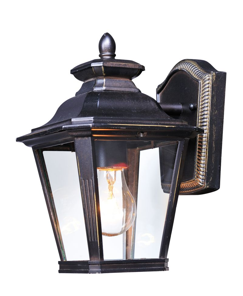 """Knoxville 7"""" 1-Light Outdoor Sconce - Bronze"""