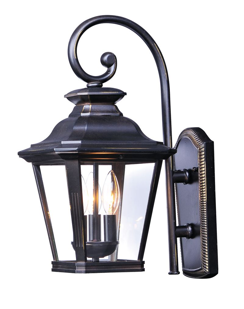 "Knoxville 11"" 3-Light Outdoor Sconce - Bronze"