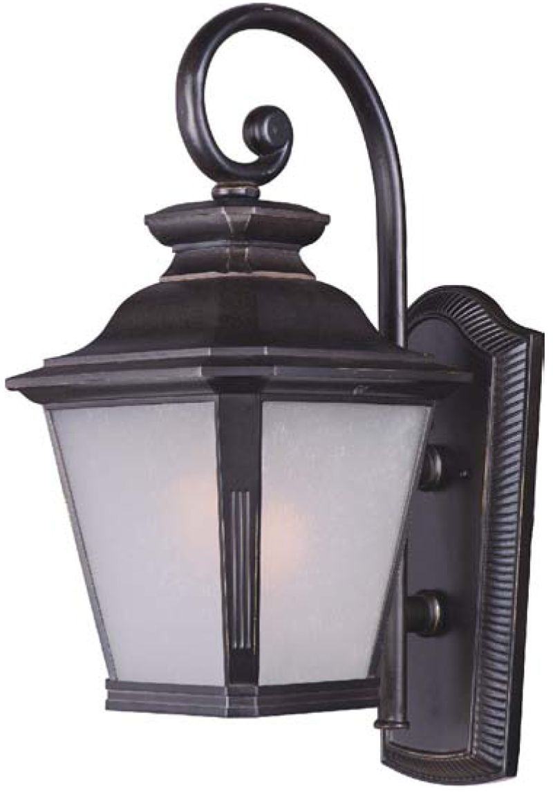 "Knoxville 11"" 1-Light Outdoor Sconce - Bronze"
