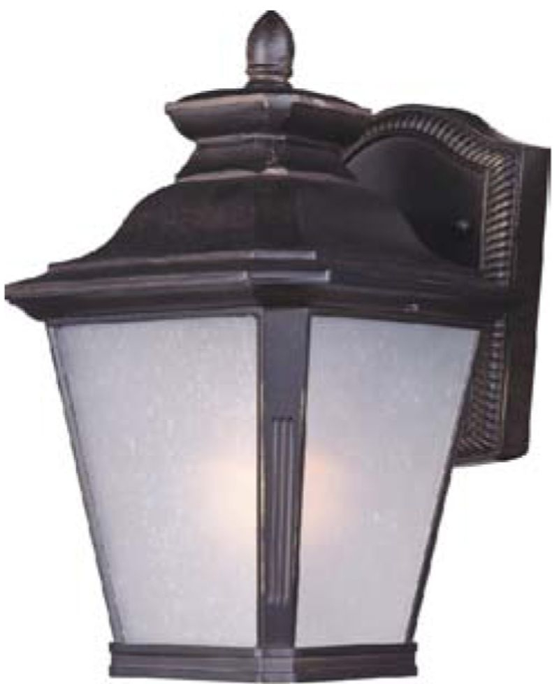 """Knoxville E26 7"""" 1-Light Outdoor Sconce - Bronze"""
