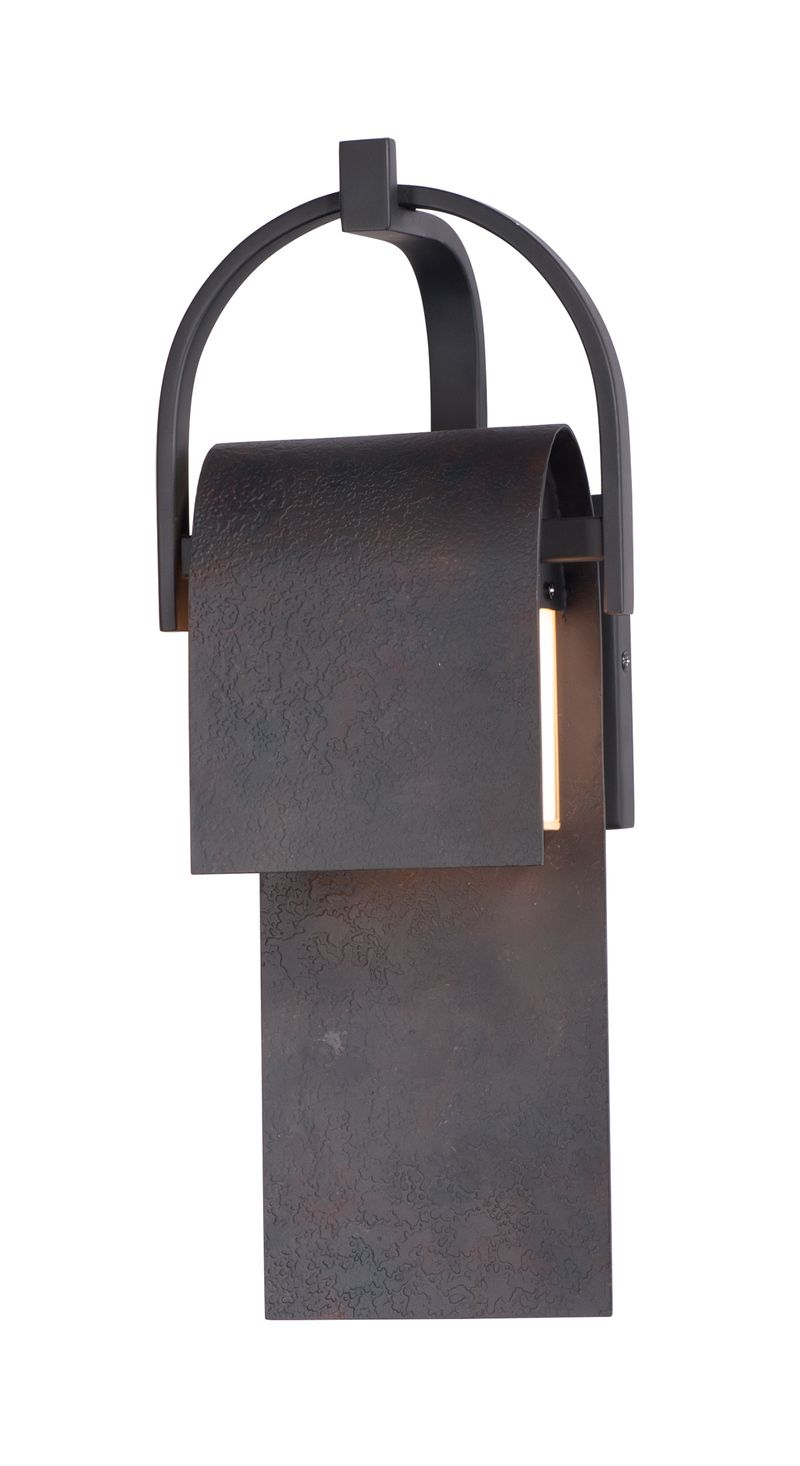 """Laredo 17"""" High 1 Light Wall Sconce in Rustic Forge"""