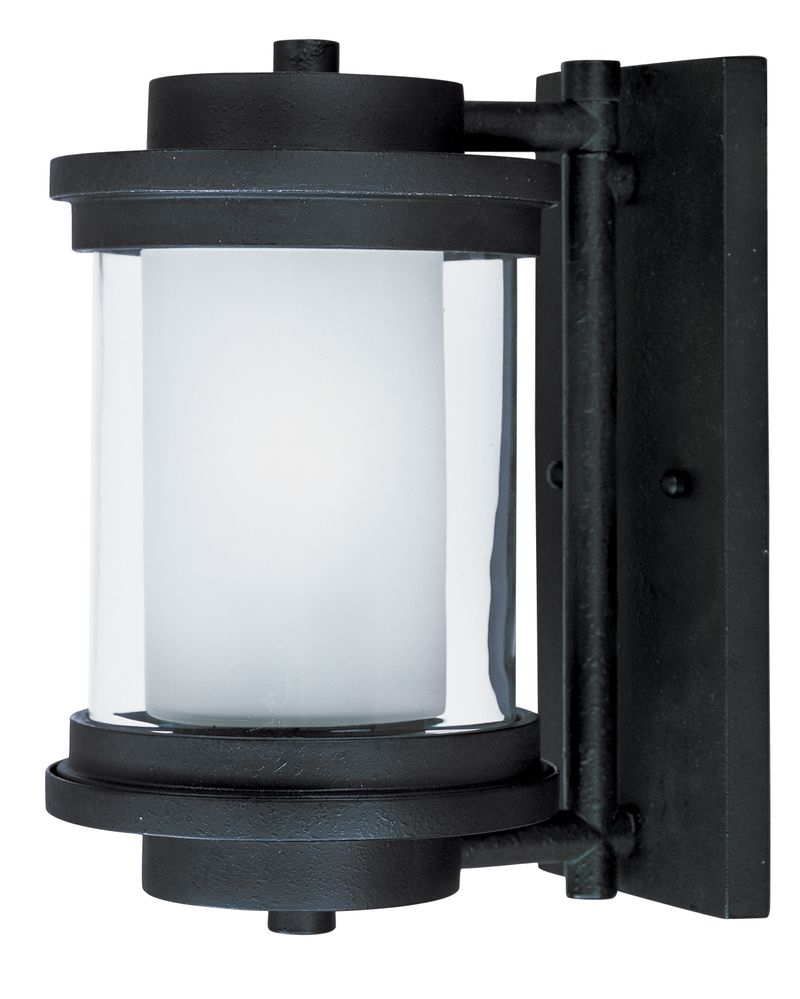 "Lighthouse 6"" 1-Light Outdoor Sconce - Anthracite"