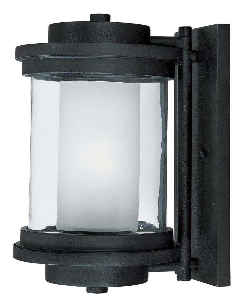 "Lighthouse 8"" 1-Light Outdoor Sconce - Anthracite"