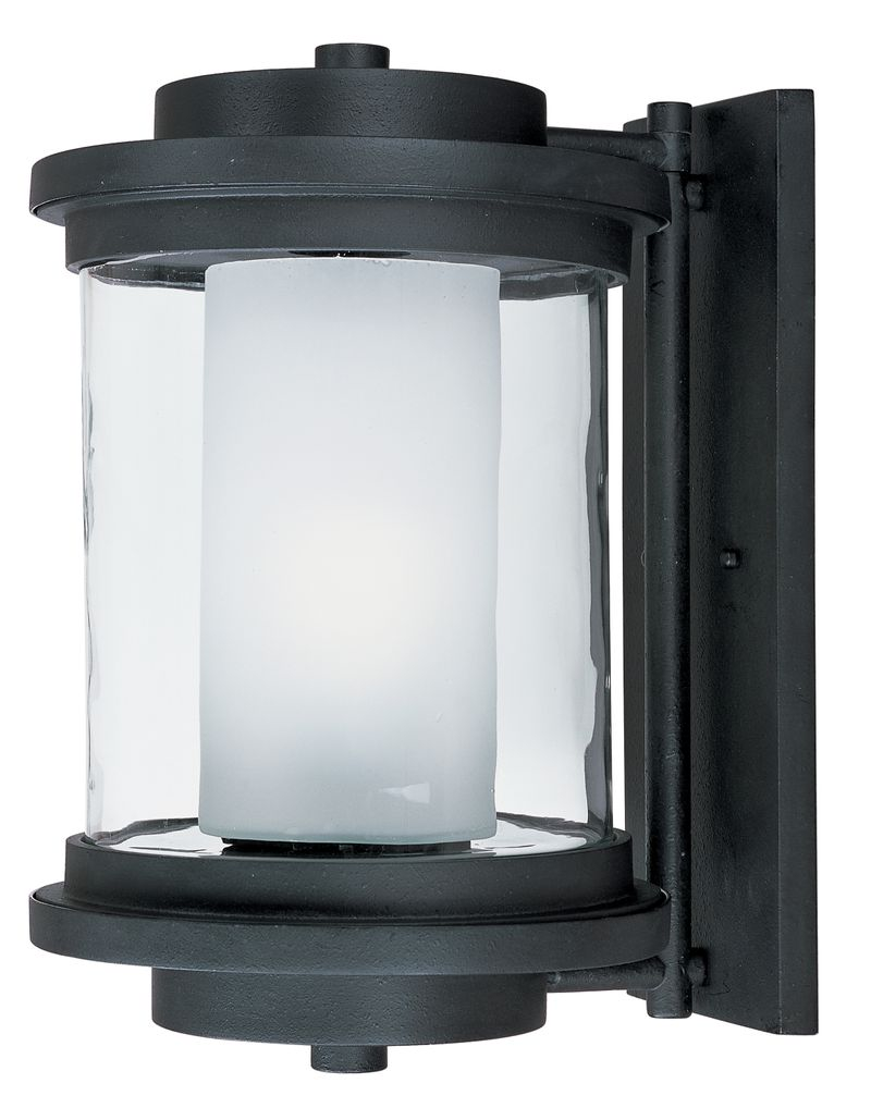 """Lighthouse 10"""" 1-Light Outdoor Sconce - Anthracite"""