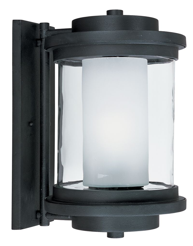 """Lighthouse E26 10"""" 1-Light Outdoor Sconce - Anthracite"""