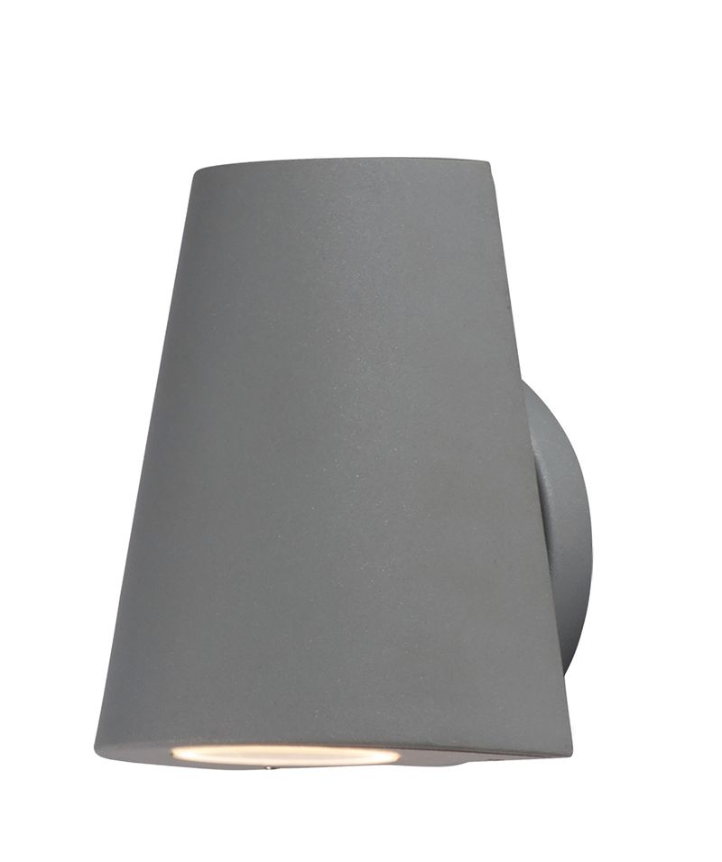 "Mini 5"" 1-Light Wall Sconce - Silver"
