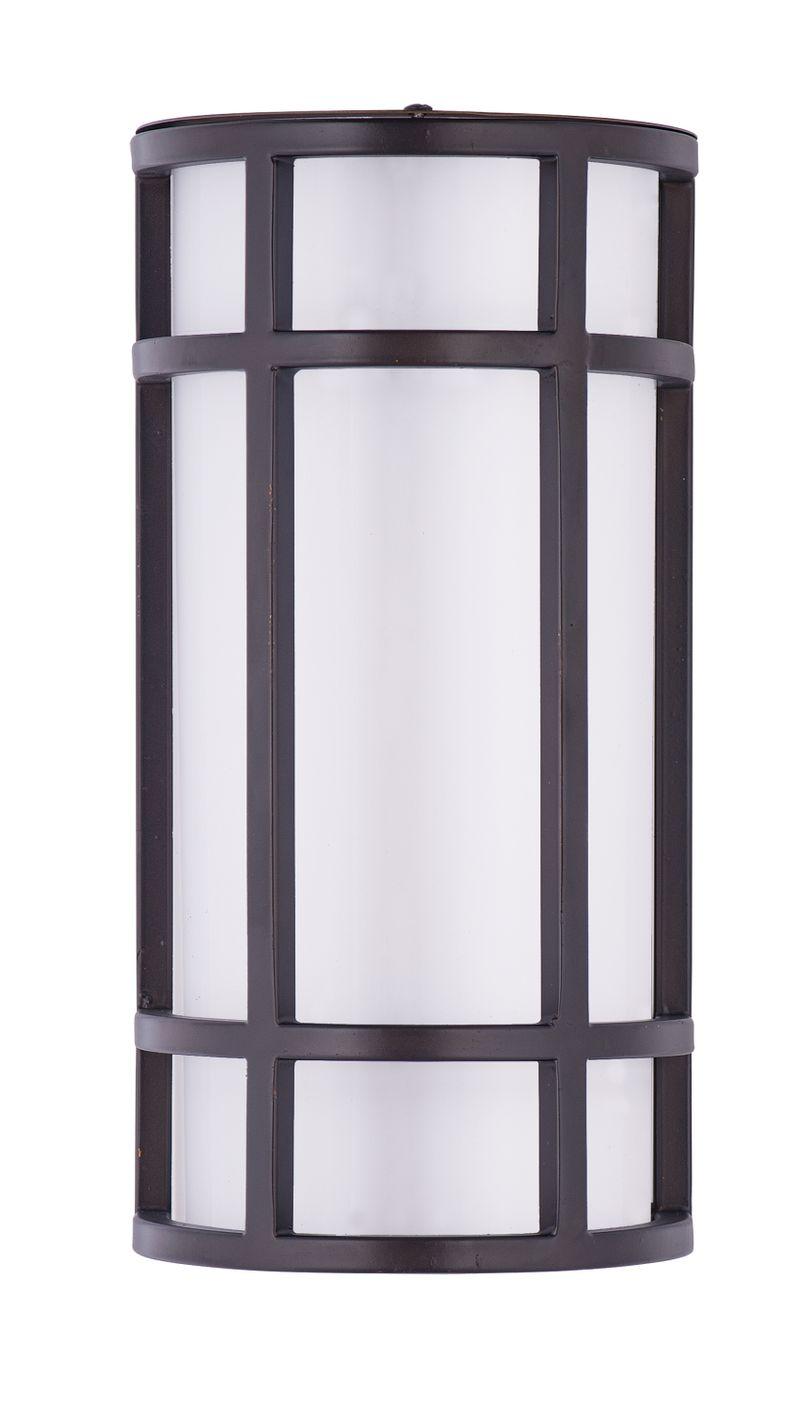 """Moon Ray 6"""" 1-Light Outdoor Sconce - Bronze"""
