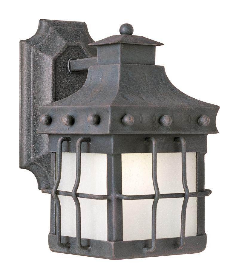 """Nantucket E26 6.5"""" 1-Light Outdoor Sconce - Country Forge"""