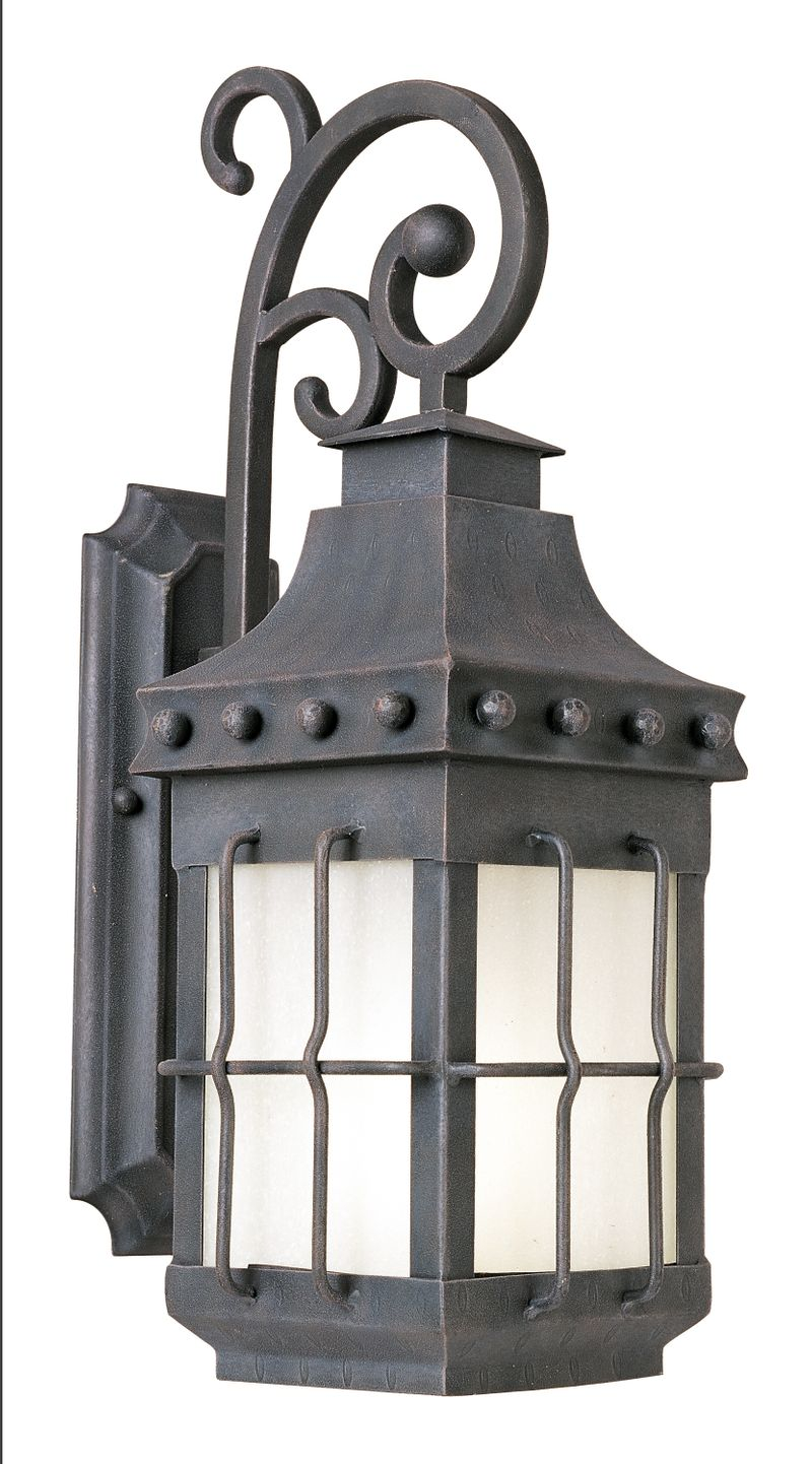 """Nantucket E26 8.5"""" 1-Light Outdoor Sconce - Country Forge"""