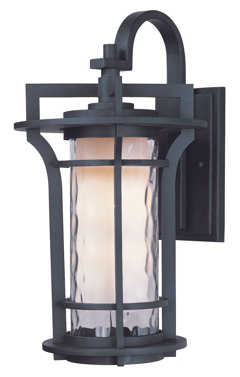 "Oakville 10"" 1-Light Outdoor Sconce - Black Oxide"