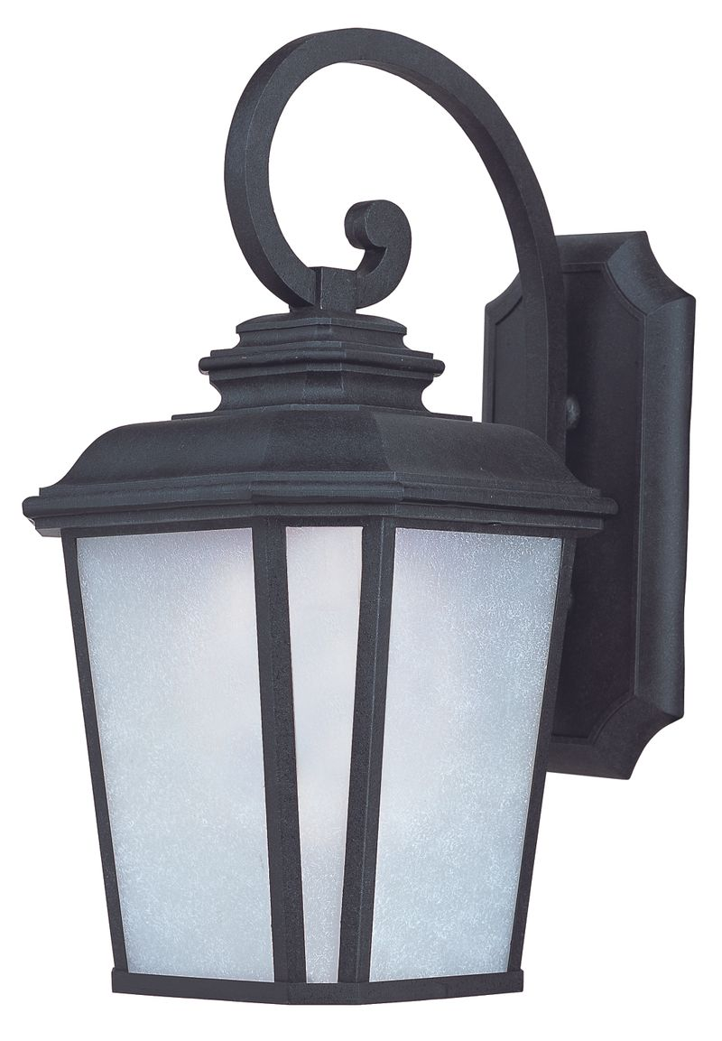 "Radcliffe E26 11"" 1-Light Outdoor Sconce - Black Oxide"
