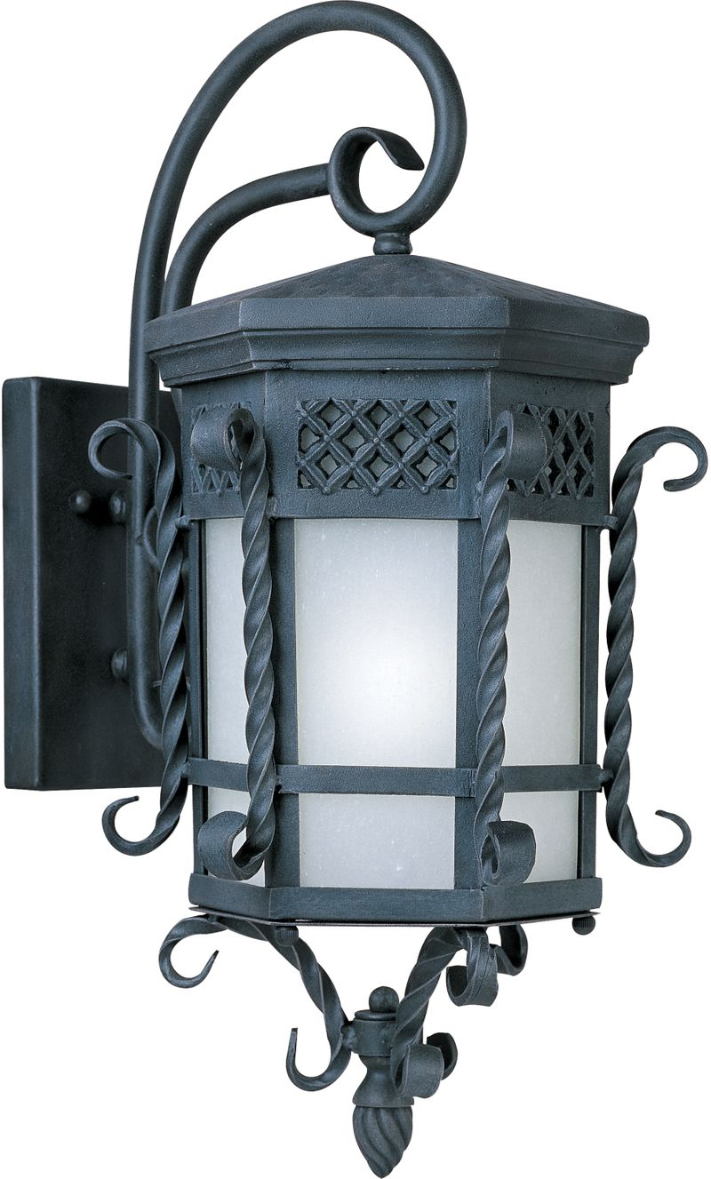 """Scottsdale E26 11.75"""" 1-Light Outdoor Sconce - Country Forge"""