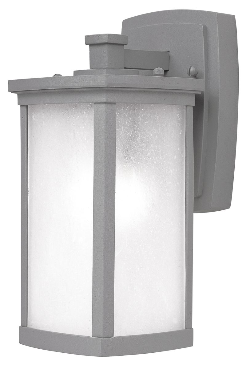 "Terrace 5.25"" 1-Light Outdoor Sconce - Platinum"