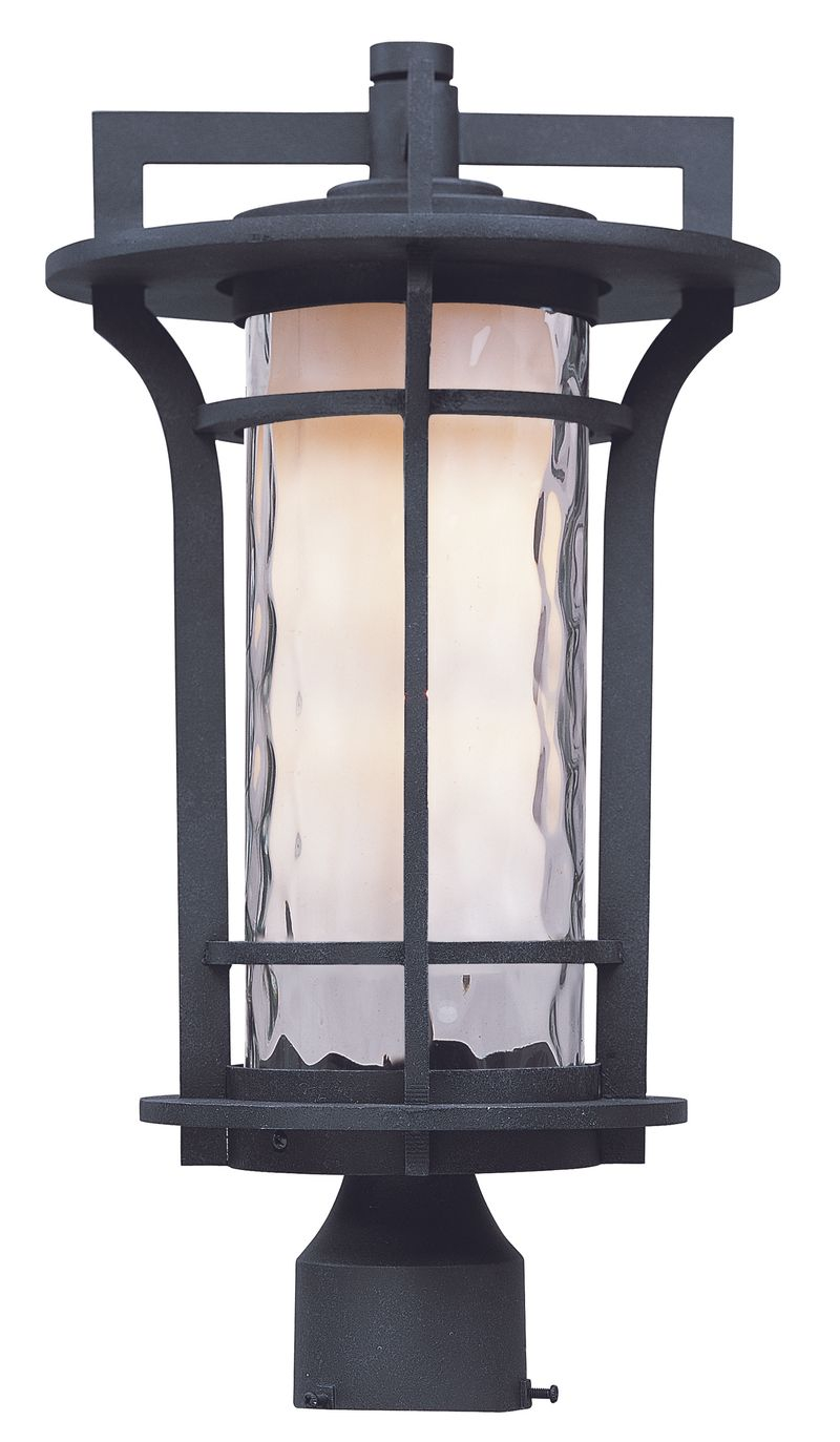"Oakville 10"" 1-Light Lantern - Black Oxide"